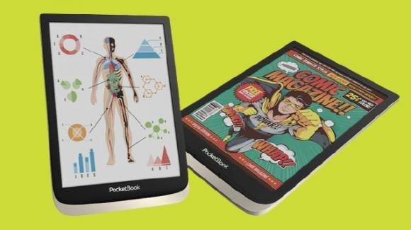 PocketBookInkPad Color: ufficiale il nuovo e-reader Kaleido a colori da 7.8 pollici
