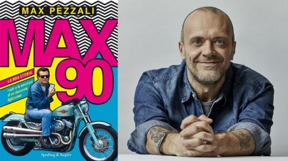 """""""Max90"""", il nuovo libro di Max Pezzali"""