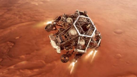 La sonda Perseverance è atterrata sul pianeta Marte: è alla ricerca di tracce di vita