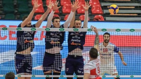 Preliminari playoff Superlega: Milano vince il match 3-0 contro Verona