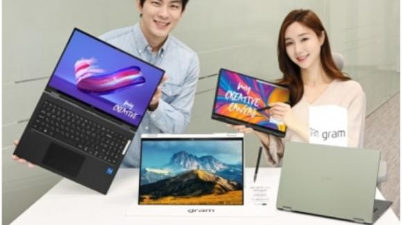 LG Gram 360: ufficiali i nuovi convertibili 2-in-1 con processori Intel Tiger Lake