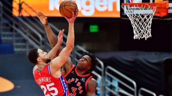 NBA, 23 febbraio 2021: i 76ers conquistano il campo dei Raptors, i Nuggets fermano i Trail Blazers
