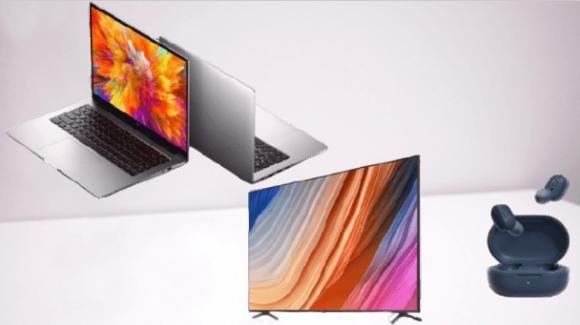 Redmi mania, con nuovi notebook, smart TV e auricolari true wireless