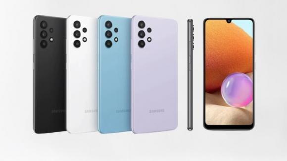 """Samsung presenta """"l'awesome"""" Galaxy A32 4G, con specifiche migliorate"""