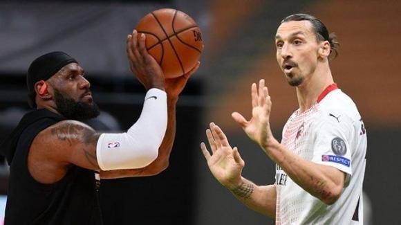 LeBron James risponde alle critiche di Zlatan Ibrahimovic: il motivo del litigio