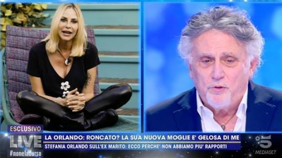 """Verissimo, Stefania Orlando parla di Andrea Roncato e attacca Dayane Mello: """"Con lei non uscirei a cena"""""""