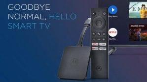 TV smart? Da oggi anche grazie all'Android TV Stick Motorola 4K