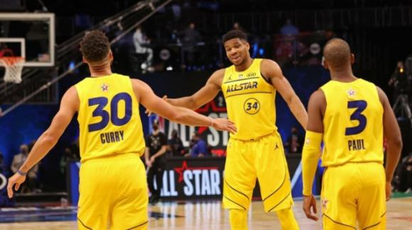 NBA, All Star Game 2021: stravince il team di LeBron James contro il team Kevin Durant
