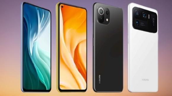 Mi 11 Ultra, Mi 11i, Mi 11 Lite 4 e 5G ufficiali, ecco la nuova valanga di top gamma Xiaomi