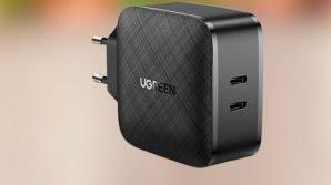 UGREEN CD216: caricabatterie USB-C con funzione di ricarica rapida da 66 W per smartphone e laptop