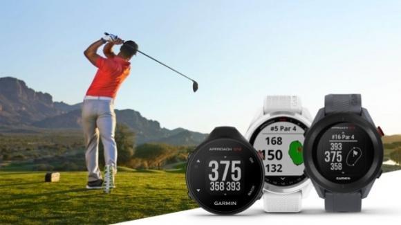 Garmin ufficializza tre nuovi wearable Approach dedicati al golf
