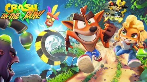 """""""Crash Bandicoot On the Run!"""": l'endless run game è ufficiale su Android e iOS"""