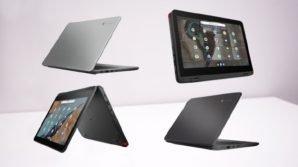 Da Lenovo quattro nuovi Chromebook (anche) per la didattica a distanza