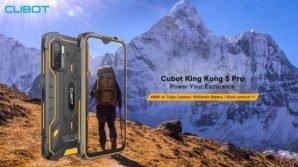 Cubot King Kong 5 Pro: ufficiale con maxi batteria da 8000 mAh, speaker stereo e Android 11