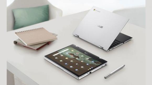 Asus si occupa della didattica a distanza con il convertibile Chromebook Flip CM3