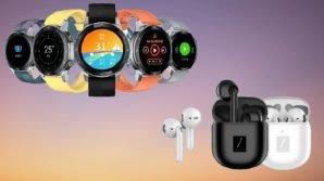 ZTE presenta lo sportwatch Watch GT per il calcio e gli auricolari tws LiveBuds SE