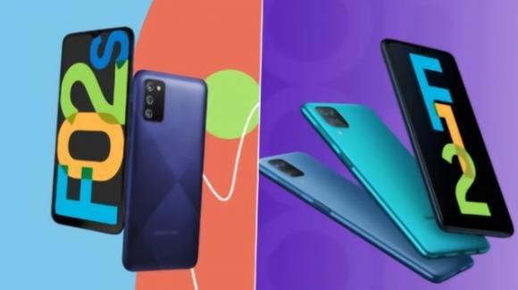 Galaxy F02s e Galaxy F12: da Samsung due medio-gamma molto autonomi