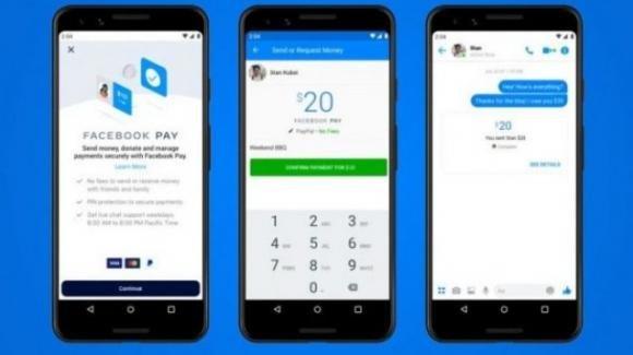 Facebook: novità per Facebook Pay via QR, Hotline anti Clubhouse e Zoom/Portal TV