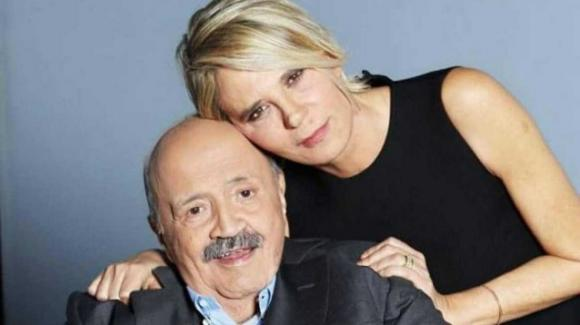Maurizio Costanzo e la dichiarazione d'amore inaspettata a Maria De Filippi
