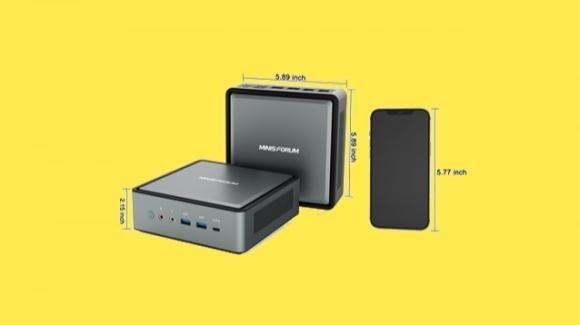Minisforum: ufficiale il mini desktop HM450 con AMDRyzen 5 4500U
