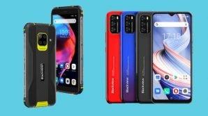 Smartphone Blackview: ufficiali il rugged BV5100 e l'entry level A70