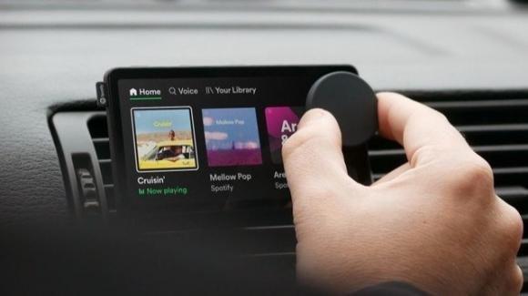 Spotify: Car Thing ufficiale, novità su Android, spot nella playlist On Repeat