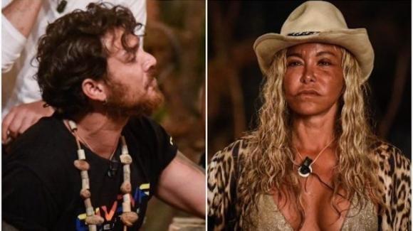 """L'isola dei famosi, Vera Gemma non condivide il cibo e fa infuriare Andrea Cerioli: """"Con la fame non si scherza"""""""