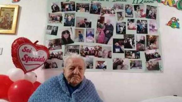 Enna, nonna Marietta ha compiuto 112 anni: è la nonna più longeva d'Italia