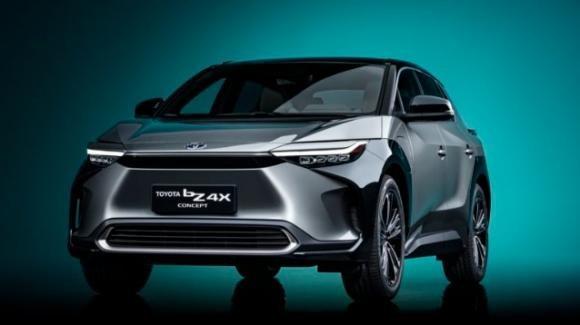 bZ4X Concept: Toyota presenta il suo primo SUV elettrico