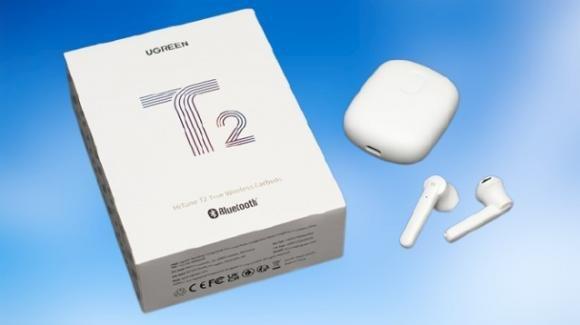 UGREEN HiTune T2: auricolari earbuds Bluetooth con modalità gaming