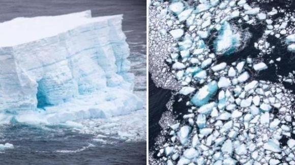 Antartide: si è sciolto l'iceberg più grande del mondo