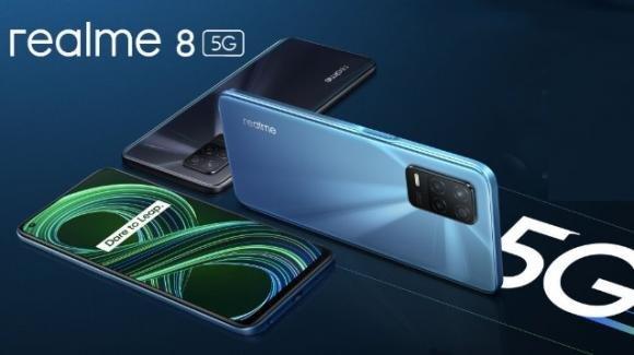 Realme 8 5G: anticipato il medio-gamma con 90 Hz e processore Dimensity 700