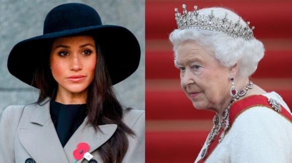 La telefonata di Meghan Markle alla Regina prima del funerale di Filippo