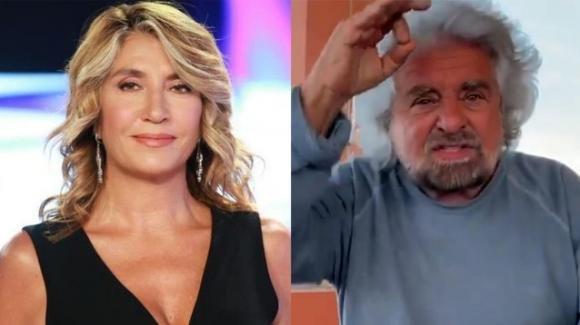 """""""L'aria che tira"""", Myrta Merlino attacca Beppe Grillo che difende il figlio Ciro"""
