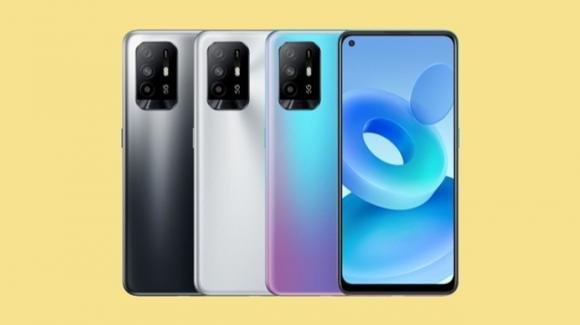 Oppo A95 5G: ufficiale il medio-gamma low cost con nuova connettività mobile