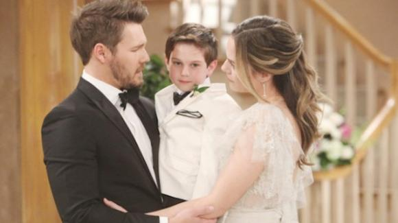 Beautiful anticipazioni italiane, Hope e Liam si sposano
