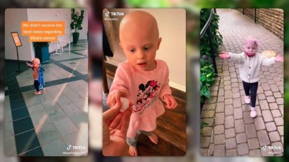 Eliza, tiktoker di 2 anni malata di tumore sta morendo: i genitori hanno sospeso le cure