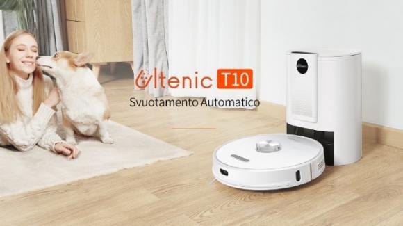Ultenic T10: debutta il nuovo robot aspirapolvere con funzione di auto-svuotamento e Alexa integrato
