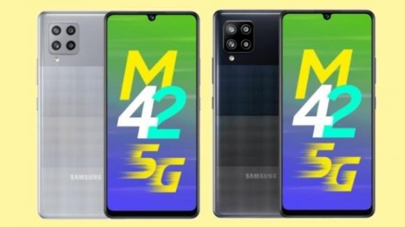 Galaxy M42 5G: ufficiale il low cost Samsung all'assalto della fascia media
