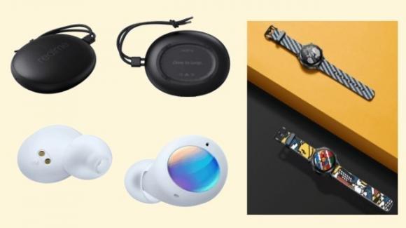 Realme: speaker Cobble, auricolari Buds Air 2 Neo, Watch S Master Edition