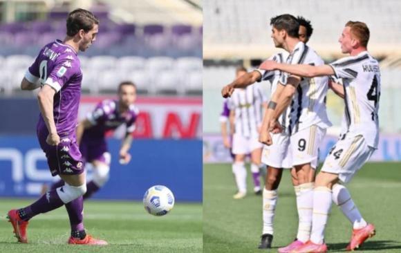 Serie A, Fiorentina-Juventus: Morata risponde a Vlahovic, ma la corsa Champions si complica
