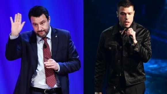 Matteo Salvini attacca il discorso di Fedez accusandolo di aver fatto pubblicità alla Nike