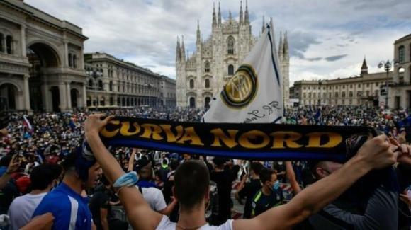 Dopo 11 anni, l' Inter torna campione d'Italia