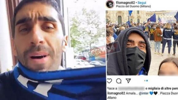 Scudetto Inter, pioggia di insulti per il comportamento di Filippo Magnini: la sua reazione
