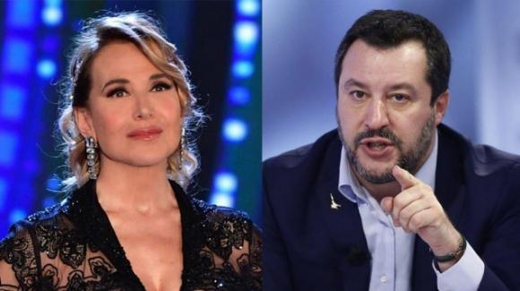"""Barbara D'Urso smaschera Salvini sul DDL Zan: """"Quello che dici non c'entra niente"""""""