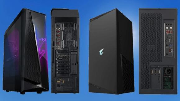 Gigabyte presenta i gaming PC Aorus Model X e Model S