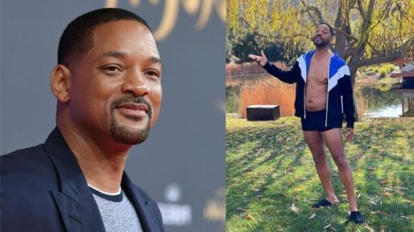 """Will Smith si mostra con la pancetta: """"Mai stato in così pessima forma"""""""