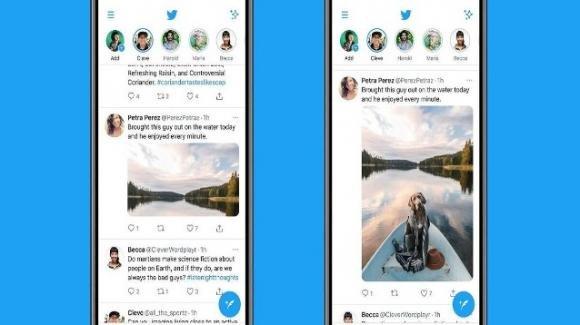 Twitter: ufficiali le immagini più grandi nelle anteprime, acquisizione per servizi premium