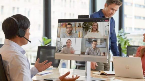 All-in-OneEliteOne 800 G8: ufficiale da HP per meeting, DaD e videochiamate