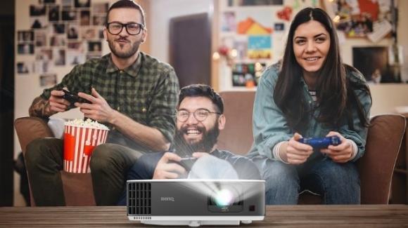 BenQ TK700STi: ufficiale il nuovo proiettore smart UHD per il gaming